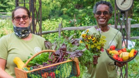 Pennsylvania Horticultural Society Gardeners fruit