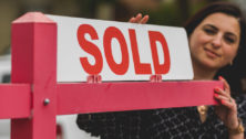 Sold Sign with Realtor