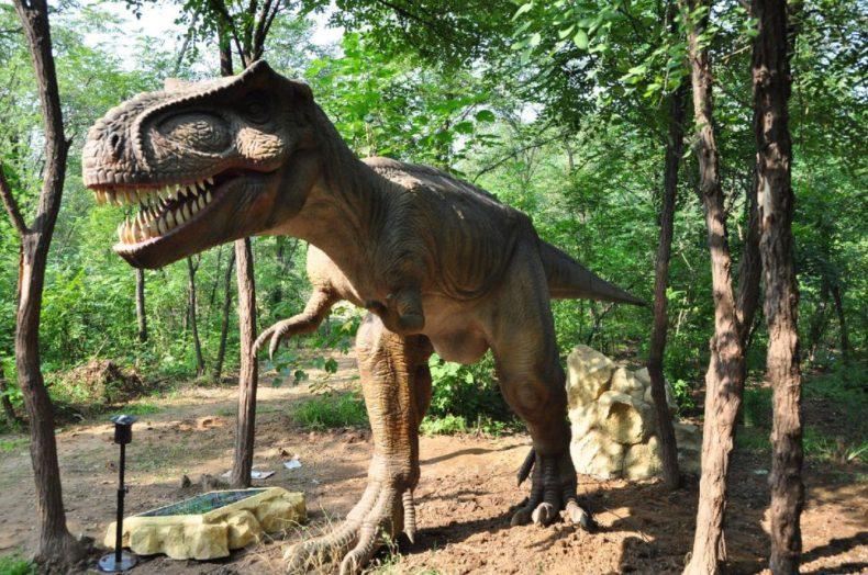 T-Rex DIno Stroll