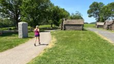 Nature Trail in Valley Forge Park