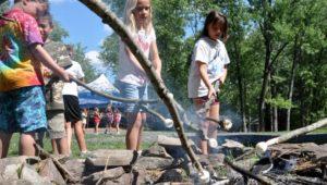 Hopwood Camp kids