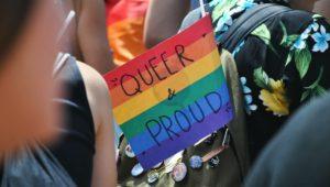 Montco Pride month Flag