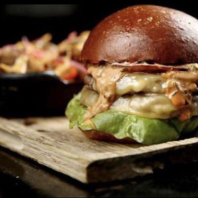 Ardmore's ripplewood burger
