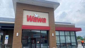 The new Wawa stadium store in South Philly.