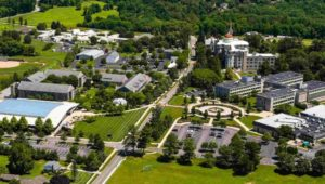 The Neumann University campus.