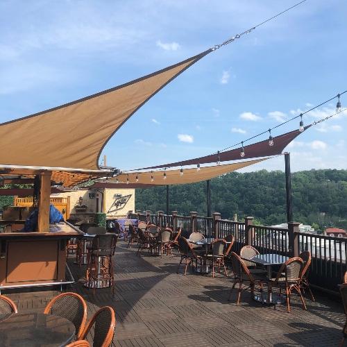 Conshohocken's Great American Pub Rooftop bar
