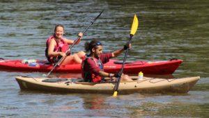 kayaking Schuylkill River Greenways
