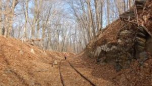 Proposed trail former tracks Norfolk Southern Railroad