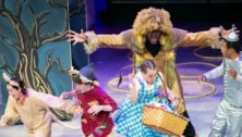 """Summer Stage theater students rehearse """"The Wizard of Oz""""."""