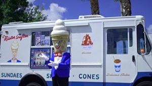 Mr. Softee truck