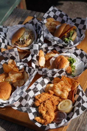 Zachary's BBQ & Soul sandwiches