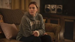 """Kate Winslet as Mare Sheehan in Brad Ingelsby's """"Mare of Easttown"""".."""