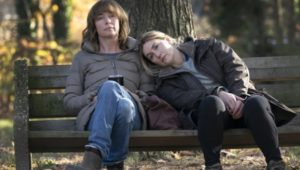 """Julianne Nicholson, left, and Kate Winslet in """"Mare of Easttown."""""""