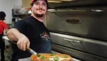 Eliyahu Kheel, Yardley Pizza's culinary artist.