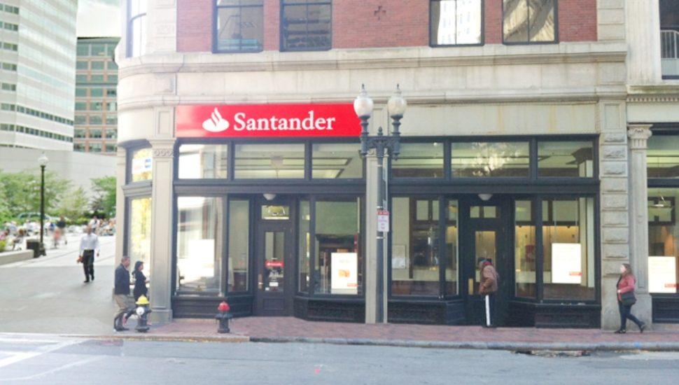 Santander Bank branch building