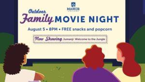 Manor College Movie Night