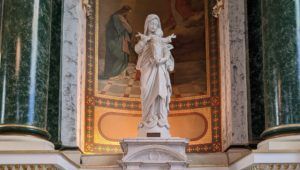 St Patrick church norristown statue of angel