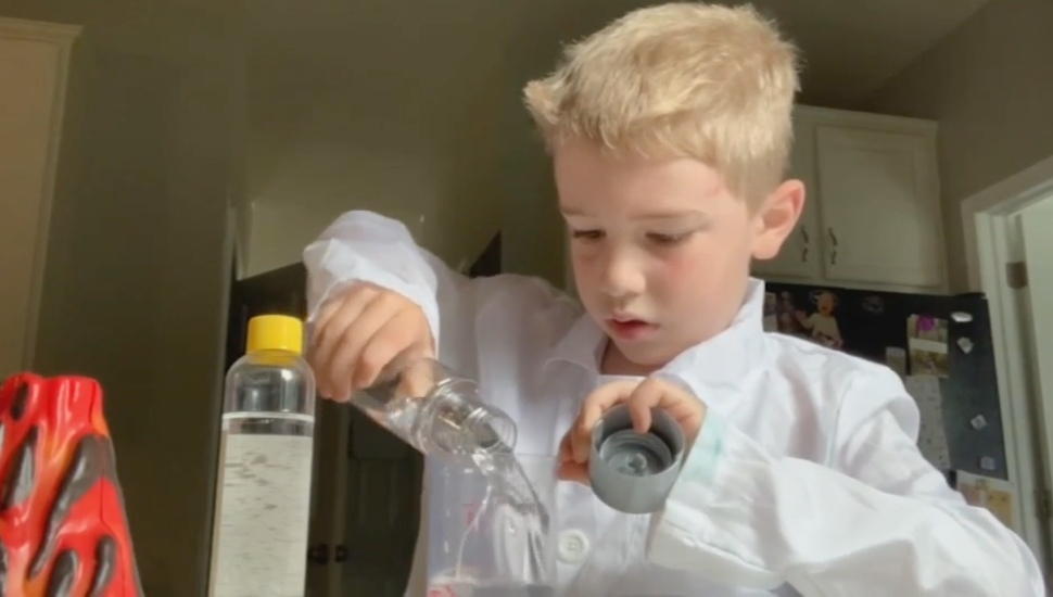 Pottstown First-Grader Loves Conducting Scientific Experiments, Sharing Results with Friends and Family