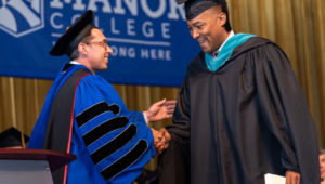 2019 Manor College commencement
