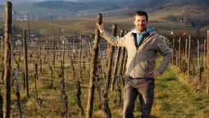 Vintner from Alsace, France