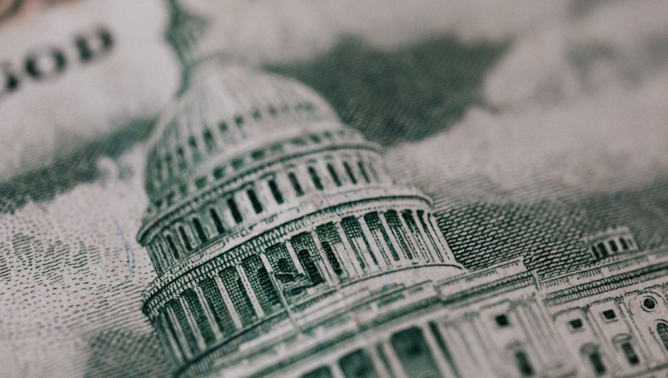 United States Capital on the $100 Bill