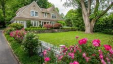 Haverford house with lawn for sale.