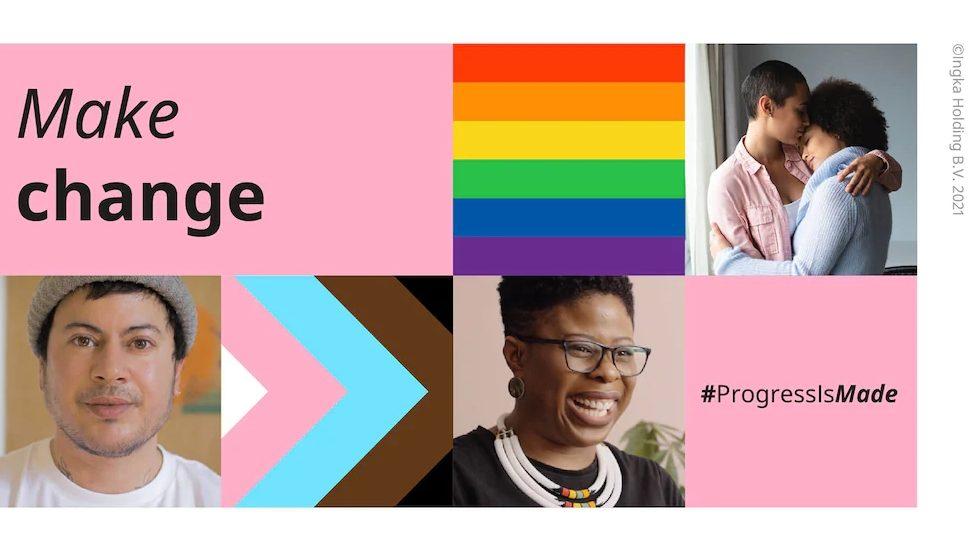 IKEA Pride collage