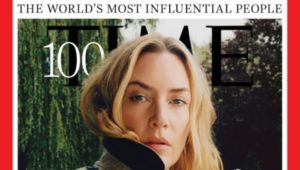 Kate Winslet on the cover of Time Magazine