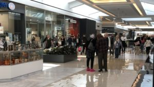 King of Prussia Mall during a busy shopping season.