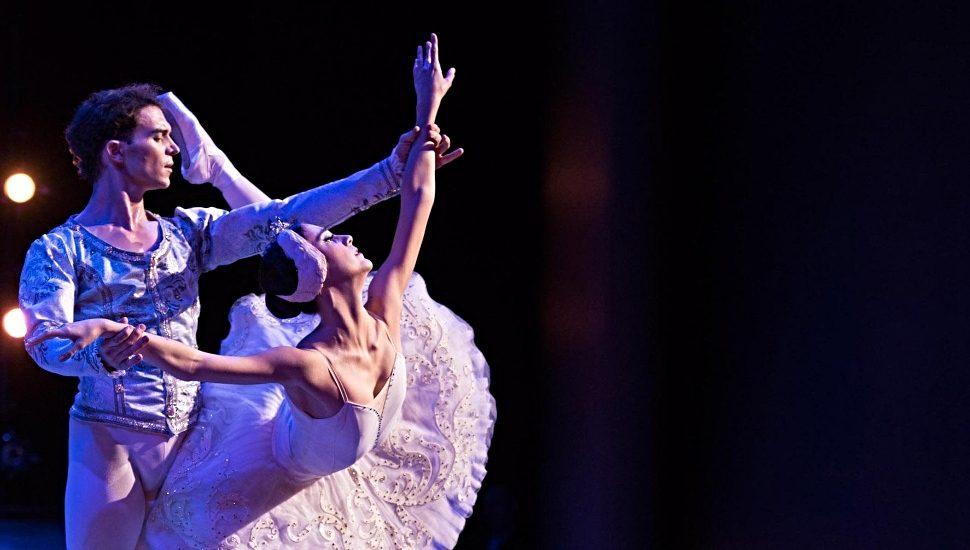 Katherine Barkman performing ballerina.