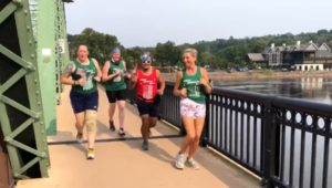 Great American Relay runners
