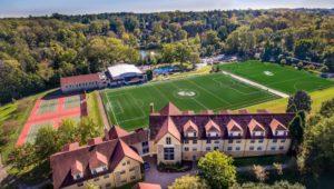 Eastern University athletic field in Radnor.s