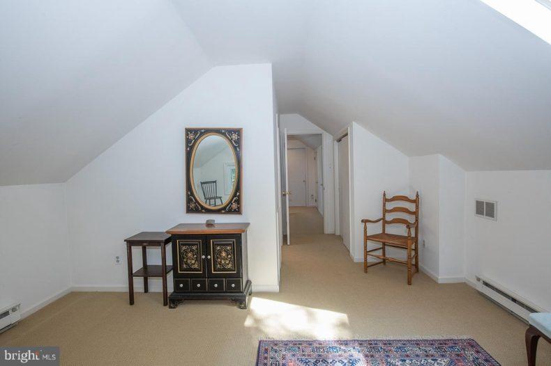 wonderful attic space with window
