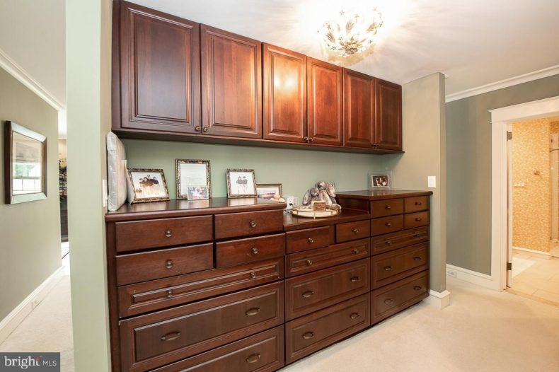 walk-in closet and dressing area
