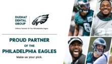 Dudhat Dental Group is the official Eagles dentist.