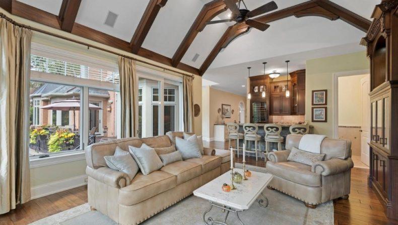 Gladwyne living room estate