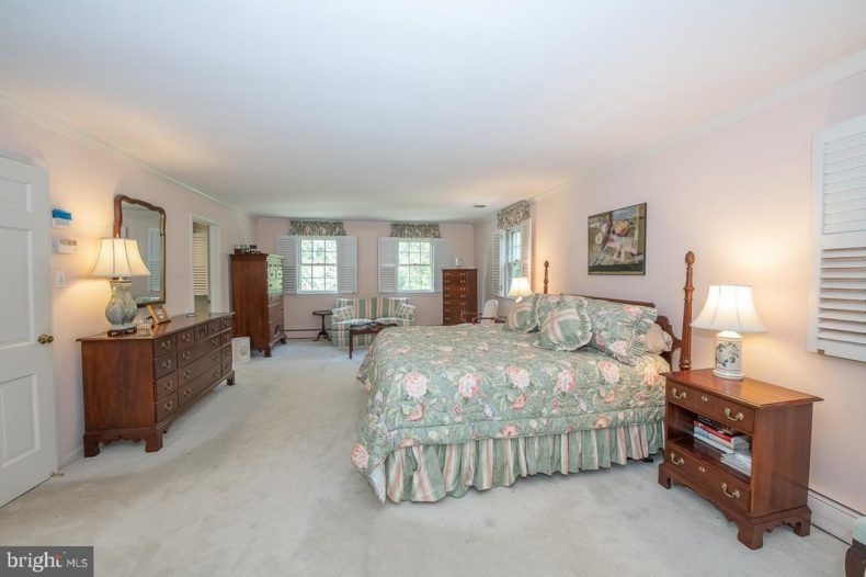 bedroom in Traditional Colonial
