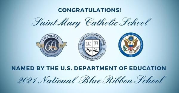 In Montgomery County, St. Mary Catholic School in Schwenksville was named. as a winner.