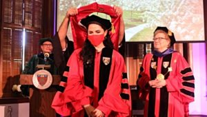 Chestnut Hill College welcomed new Doctors In Clinical Psychology to Celebrate Official in Hooding Ceremony.