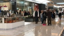 King of Prussia Mall on a busy shopping day