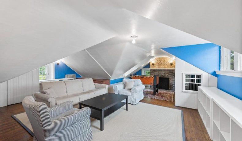 Gladwyne house attic