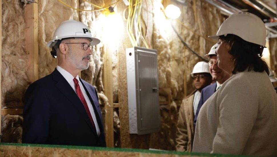 Gov Tom Wolf at Clemens Food Group.