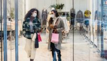 Women shopping at King of Prussia Mall with Klarna.