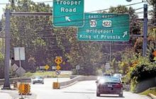 Route 422 East to Route 23 ramp shutting down for months